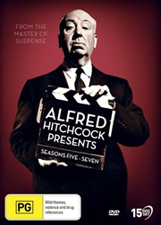 Alfred Hitchcock Presents - Season 5-7   DVD