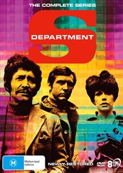 Department S - Ultimate Edition | Complete Series - New Restoration | DVD