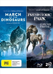 Prehistoric Park / March Of The Dinosaurs   DVD