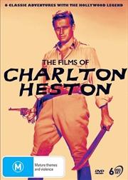Films Of Charlton Heston, The | DVD