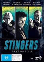 Stingers - Season 5-8 | DVD