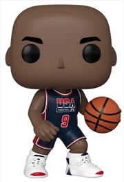 "NBA - Michael Jordan '92 Team USA Navy US Exclusive 10"" Pop! Vinyl [RS] | Pop Vinyl"