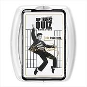 Top Trumps - Elvis Quiz   Merchandise