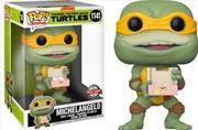"Teenage Mutant Ninja Turtles 2 - Michelangelo US Exclusive 10"" Pop! Vinyl [RS] | Pop Vinyl"