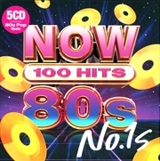 Now 100 Hits 80s No 1s | CD