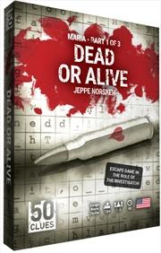 50 Clues Season 2 - Maria Part 1 - Dead or Alive | Merchandise