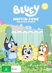 Bluey - Muffin Cone And Other Stories - Vol 11 | DVD