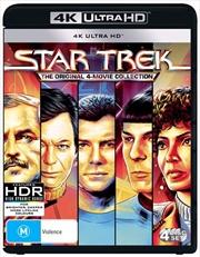 Star Trek - The Motion Picture / Star Trek II - The Wrath Of Khan / Star Trek III - The Search For S | UHD