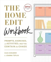 The Home Edit Workbook: Prompts, Exercises and Activities to Help You Contain the Chaos | Paperback Book