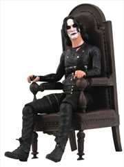 The Crow - Crow in Chair SDCC 2021 US Exclusive Deluxe Figure   Merchandise