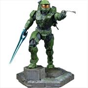 Halo Infinite - Master Chief with Grapplshot PVC Statue | Merchandise