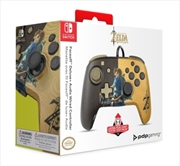 Switch Faceoff Deluxe Audio Wired Controller Breath of the Wild | Nintendo Switch