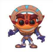 Crash Bandicoot - Crash in Mask Armor Pop! SD21 RS | Pop Vinyl