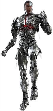 """Justice League Movie: Snyder Cut - Cyborg 1:6 Scale 12"""" Action Figure   Merchandise"""