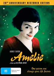 Amelie - 20th Anniversary Edition | Restored Edition | Blu-ray