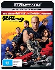 Fast and Furious 9 - The Fast Saga | Blu-ray + UHD | UHD