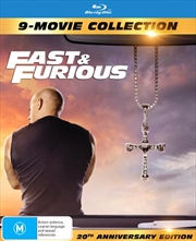 Fast and Furious 1-9 - Limited Edition | Digipack - 9 Movie Franchise Pack | Blu-ray