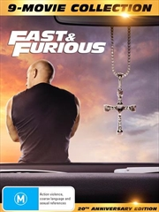 Fast and Furious 1-9 - Limited Edition | Digipack - 9 Movie Franchise Pack | DVD