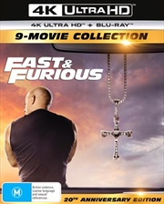Fast and Furious 1-9 - Limited Edition | Blu-ray + UHD - 9 Movie Franchise Pack | UHD