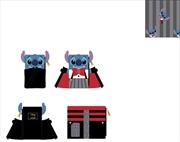 Loungefly - Lilo & Stitch - Vampire Stitch Flap Purse   Merchandise