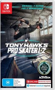 Tony Hawks Pro Skater 1 And 2 | Nintendo Switch