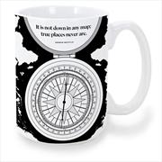 Herman Melville Compass Mug   Merchandise