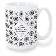 T S Eliot Spoons Mug   Merchandise