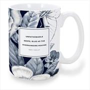 Percy Shelley Blue Mug   Merchandise