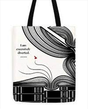 Jane Austen Diverted Tote | Apparel