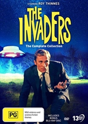 Invaders, The | Complete Collection - Bonus Blu Ray Pilot Episode | Blu-ray/DVD