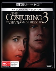 Conjuring 3 - The Devil Made Me Do It | Blu-ray + UHD, The | UHD