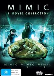 Mimic / Mimic 2 / Mimic - Sentinel | 3 Movie Franchise Pack | DVD