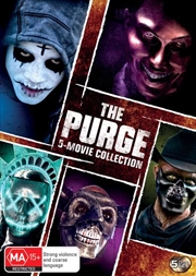 Purge / The Purge - Anarchy / The Purge - Election Year / The First Purge / The Forever Purge | 5 Mo | DVD