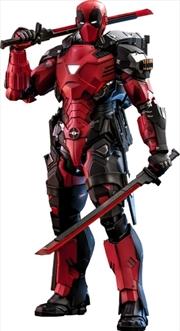 "Deadpool - Armorized Deadpool Diecast 1:6 Scale 12"" Action Figure | Merchandise"