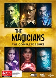 Magicians - Season 1-5   Complete Series, The   DVD