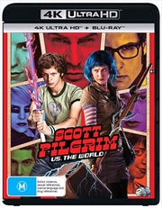 Scott Pilgrim Vs The World | Blu-ray + UHD | UHD