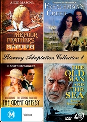 Literary Adaptation - The Four Feathers / Frenchman's Creek / The Great Gatsby / The Old Man and The   DVD