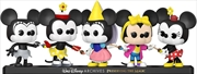 Mickey Mouse - Minnie Mouse US Exclusive Pop! Vinyl 5-Pack [RS] | Pop Vinyl