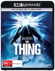 Thing | Blu-ray + UHD, The | UHD
