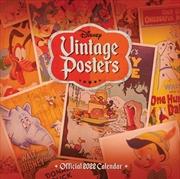 Disney Vintage Posters 2022 Square Calendar | Merchandise