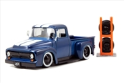 Just Trucks - Ford F-100 Pick Up 1956 Metallic Blue 1:24 Scale Diecast Vehicle | Merchandise