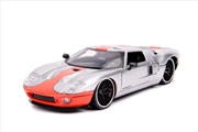 Big Time Muscle - Ford GT 2005 Silver 1:24 Scale Diecast Vehicle | Merchandise