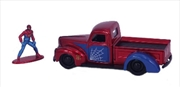 Spider-Man - 1941 Ford Pick Up with Spider-Man 1:32 Scale Hollywood Ride | Merchandise