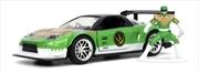 Power Rangers - 2002 Honda NSX with Green Ranger 1:32 Scale Hollywood Ride | Merchandise