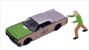 Stan Lee - 1963 Lincoln Continental with Stan 1:24 Scale Hollywood Ride | Merchandise
