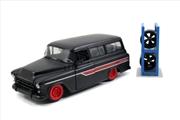 Just Trucks - Chevy Suburban 1957 Black 1:24 Scale Diecast Vehicle   Merchandise