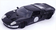 Big Time Muscle - Ford GT 2005 Black 1:24 Scale Diecast Vehicle | Merchandise
