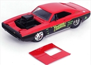 Big Time Muscle - Dodge Charger R/T 1970 Red 1:24 Scale Diecast Vehicle | Merchandise