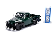 Just Trucks - Chevy Pick Up 1953 Green 1:24 Scale Diecast Vehicle   Merchandise