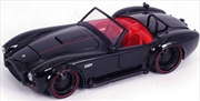 Big Time Muscle - Shelby Cobra 427 S/C 1965 Black 1:24 Scale Diecast Vehicle   Merchandise